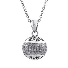 雅凡首饰厂 黄金珠宝 白银 纯银吊坠项链 高18cm宽11cm 重2.5克 可批发 1件