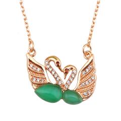 雅凡首饰厂 黄金珠宝 白银 明星同款 纯银吊坠项链 高16cm宽21cm 重3.6克 可批发 1件