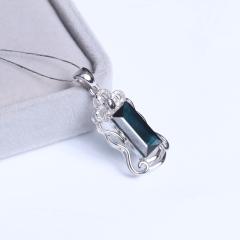 天意缘珠宝行 6.5x12.5蓝宝石吊坠