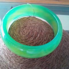 天然绿玉髓手镯正品天然冰种通透纯净