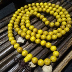 菩提居珠宝行 年前炬惠,黄金木108颗,规格0.8mm现货6条,60