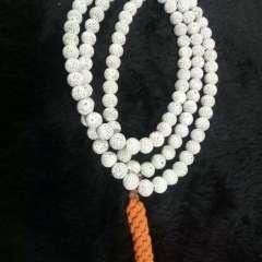 菩提居珠宝行  海南毛感高瓷,11mm圆,菩提手串