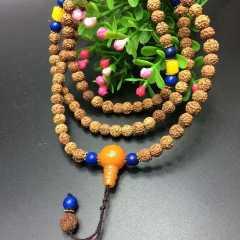 菩提居珠宝行 天然印尼小金刚菩提手串108颗佛珠 规格:6mm