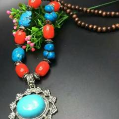 菩提居珠寶行  藏式民族風毛衣鏈 搭配各種風格的衣服特價