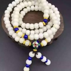 菩提居珠寶行  天然白玉菩提根鏈 手鏈 像和田玉一樣溫潤  特價