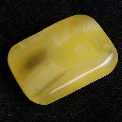 玉泉琥珀  平安无事牌琥珀挂件  30mm*45mm  黄金珠宝玉器