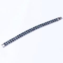 洪光蓝宝石 s925银蓝宝石手链 时尚饰品