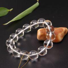 玉中皇珠宝   白水晶手链
