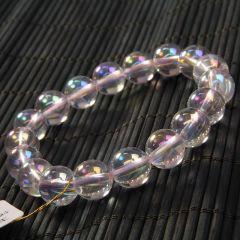 玉中皇珠宝  白水晶  彩色之恋手链