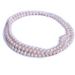 渭塘寶緣閣珠寶 珍珠毛衣鏈高大上款 7-8mm 120cm 珍珠