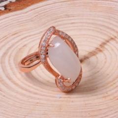 遇籽福珠宝 镶嵌戒指