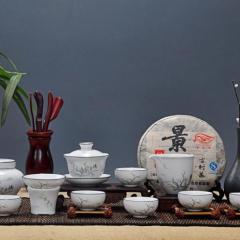 青花瓷窑    礼品手绘茶具茶叶罐   特惠
