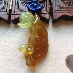 【精品·花玉】天然岫岩花料山老料花玉吊坠!和和美美!和气生财!玉质细腻水润!雕功完美!