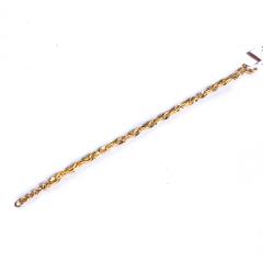 宝麒麟银楼 黄金女士手链 玫瑰手链      黄金珠宝手链 8.66g