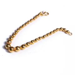 寶麒麟銀樓 黃金女士手鏈 佛珠手鏈    黃金珠寶手鏈 10.06g