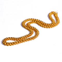 宝麒麟银楼 黄金男士 泰国链   黄金珠宝项链 43.68g