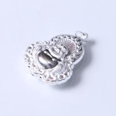 腾飞珠宝行  S990纯银银佛