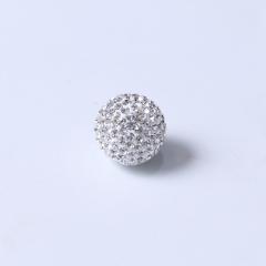 腾飞珠宝行  S990钻石圆珠吊坠