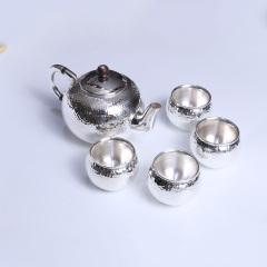 吉祥銀樓  茶具 精品小茶具990水立方款519g