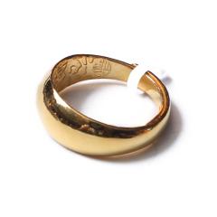 富华珠宝首饰 黄金男戒光戒   黄金珠宝戒指 11.56g