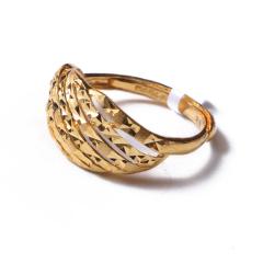 富华珠宝首饰 黄金流星钻   黄金珠宝戒指 4.84g