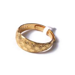 富华珠宝首饰 黄金满天星    黄金珠宝戒指 5.35g