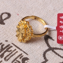 富华珠宝首饰 黄金 新款女戒   黄金珠宝戒指 5.83g