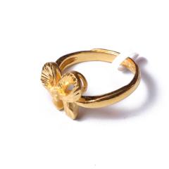 富华珠宝首饰 黄金领结    黄金珠宝戒指 6.28g