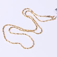 富华珠宝首饰 黄金项链满天星   黄金珠宝项链 7.35g