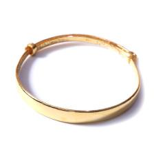 新西北金行  千足金經典光手鐲   重量29.55g  黃金珠寶黃金手鐲 29.55g