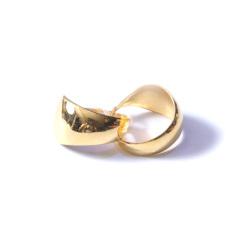 新西北金行  千足金光耳环  黄金珠宝黄金耳环重量 5.51g