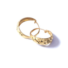 新西北金行  千足金满天星耳环    黄金珠宝黄金耳环重量 2.95g