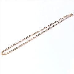 新西北金行 铜钱项链  重量14.56g  黄金珠宝黄金项链 14.56g