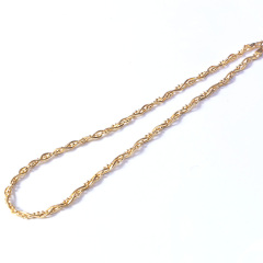 新西北金行  蛇骨加珠項鏈  重量29.89g   黃金珠寶黃金項鏈 29.89g