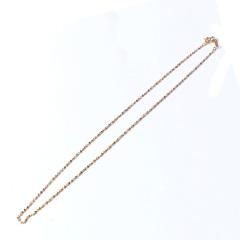 新西北金行  滿天星項鏈  重量4.08g   黃金珠寶黃金項鏈 4.08g
