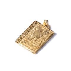 新西北金行   千足金马牌吊坠  重量10.24g    黄金珠宝黄金吊坠 10.24g