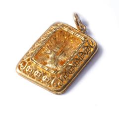 新西北金行   千足金鹰牌吊坠  重量18.41g    黄金珠宝黄金吊坠 18.41g