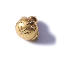 新西北金行 千足金3D葫芦吊坠  重量2.41g   黄金珠宝黄金吊坠 2.41g