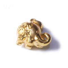 新西北金行   千足金3D小象吊坠  重量2.14g  黄金珠宝黄金吊坠 2.14g