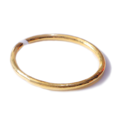 新西北金行  千足金光指环   重量2.05g    黄金珠宝黄金戒指 2.05g