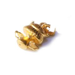 新西北金行  千足金3D小天使吊坠  重量1.79g  黄金珠宝黄金吊坠 1.79g