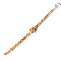 新西北金行  千足金仿表手链  重量21.51g   黄金珠宝黄金手链 21.51g