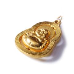 新西北金行   千足金佛吊坠  重量13.82g    黄金珠宝黄金吊坠 13.82g