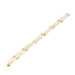 新西北金行   新款女士項鏈  重量13.71g   黃金珠寶黃金項鏈 13.71g