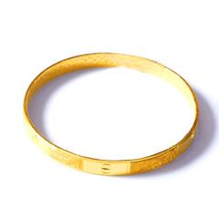 新西北金行  千足金卡地亞手鐲   重量46.13g  黃金珠寶黃金手鐲 46.13g