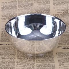 胜通祥   千足银全光面大碗   口径16公分  重量260克   白银