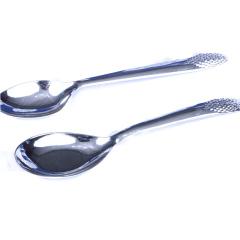 胜通祥   千足银电镀光面勺子   白银 44g