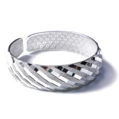 寶豐銀樓  精品銀鐲  白銀手鐲
