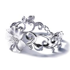 宝丰银楼  特精品银镯  白银手镯