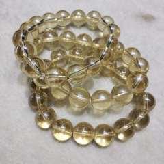 玉缘阁 天然水晶手串晶体通透无杂质